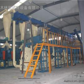 全自动木粉生产线配置方案/出口优质木粉机/专门定做制粉机