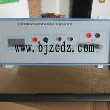 齿盘测速及残压测速式转速继电器校验装置