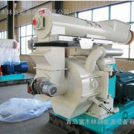 青岛富木林厂家专业配置木屑颗粒机生产线/农村创业项目制粒设备