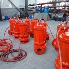 3KW小型耐热潜水排污泵-水温80-90°没问题