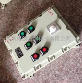 防爆操作箱隔爆型 防爆控制箱定做 LBZ52防爆操作柱