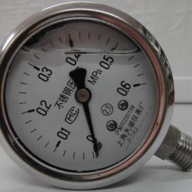 耐高温耐腐蚀Y-60BFZ不锈钢耐震压力表