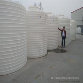 10吨漂白剂塑料桶,10吨氯酸钠杀菌剂储罐