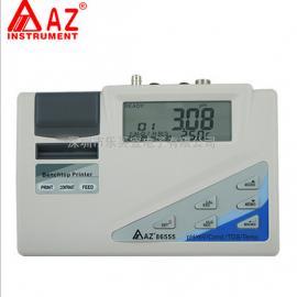 台湾衡欣 AZ86555水质测试仪 PH计 TDS测试 电导率仪 温度计