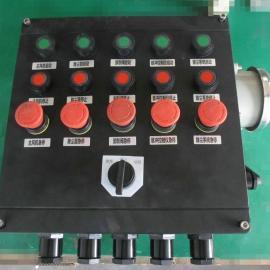 LCZ8050铸铝防爆防腐机旁操作柱