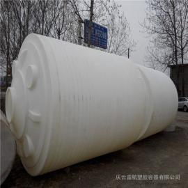 20T塑料水塔 20吨食品级PE水箱加厚耐强酸塑料桶