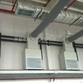 供应恒温室花房暖风炉布袋风管 纤维织物风管 帆布布风管