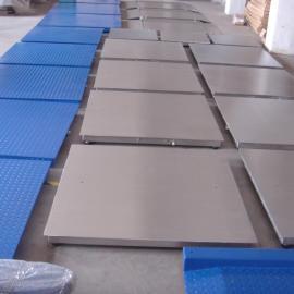 浙江供应1吨双层不锈钢耐高温电子小地磅