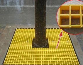 厂家直供城市绿化玻璃钢树篦子防滑耐用图片 高清大图 谷瀑环保