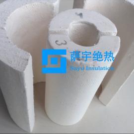 耐温1000℃微孔硅酸钙管壳