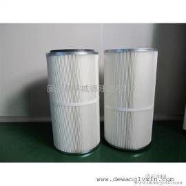 PTFE覆膜聚酯除尘滤芯