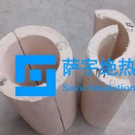 耐温650℃微孔硅酸钙管壳