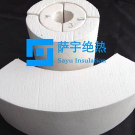热力管道保温用微孔硅酸钙管壳