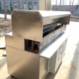 新款不锈钢无烟木炭烧烤车净化效率达到95%以上