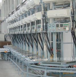 空气能热泵空调流水线