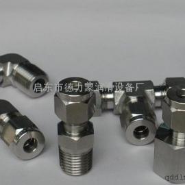 供应各种规格管接头、不锈钢、碳钢卡套式管接头(德力蒙)