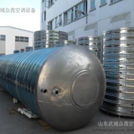 德州圆柱形不锈钢水箱制造厂家武城众鑫您的不二选择价