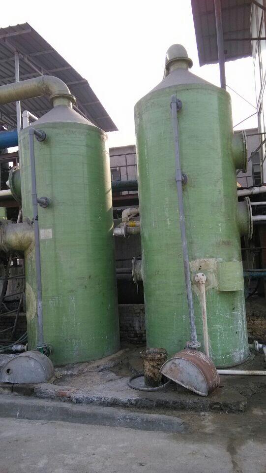 专业设计-华强12000风量酸雾喷淋塔尺寸?