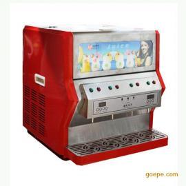 台式四缸浓缩果汁机 商用果汁冷饮机 浓缩果汁现调机