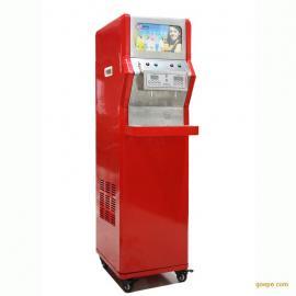 立式二缸浓缩果汁现调机 果汁冷饮机 全自动果汁机
