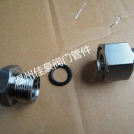 JB/T966不绣钢焊接式接头,焊接式直通管接头