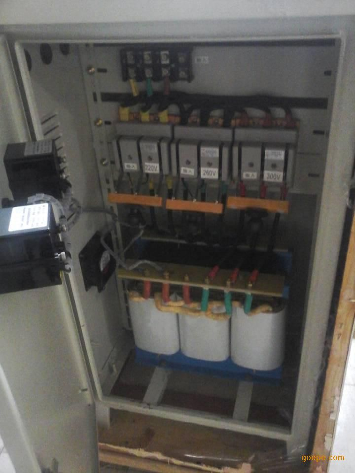 甘肃省农场用37kw水泵升压器三相增压稳压电源
