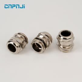 批量供应金属电缆防水接头 PG13.5电缆防水接头
