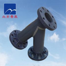PVC管道Y型过滤器 化工PVC-Y型过滤器 防腐管道必备