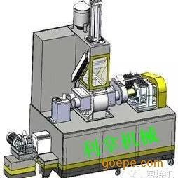 橡胶混炼造粒一体机