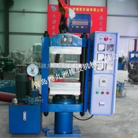 实验室高温硫化机现货25t平板硫化机可加热温度至400℃