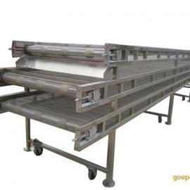 水饺加工生产线 冷冻隧道流水线设备