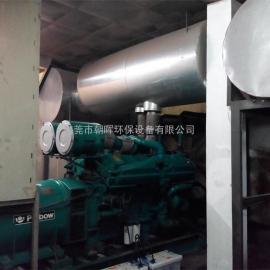 东莞柴油发电机组消音设备、消音工程