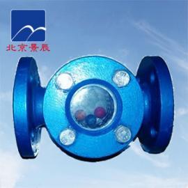 管道浮球视镜  浮球式水流指示器