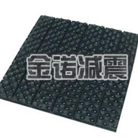 JT型橡胶减振垫纺织机械降噪组合式减振器