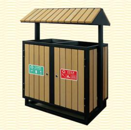 垃圾桶-南京垃圾桶-塑木垃圾桶