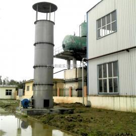 1500立方内燃式沼气火炬在造纸厂污水产沼气处理上的运用
