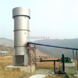 200立方内燃式沼气火炬在垃圾填埋场沼气焚烧的运用