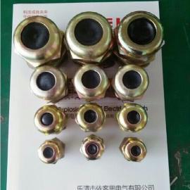 优质碳素钢防爆电缆夹紧密封接头BDM-II-G3/4