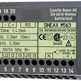 SINEAX M563电量变送器-SINEAX M563