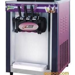 广绅BJ218S冰淇淋机 台式三色冰淇淋机 三头冰淇淋机