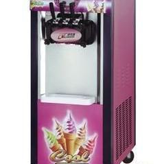 广绅BJ488C三色冰淇淋机 商用冰激淋机 三头冰激淋机