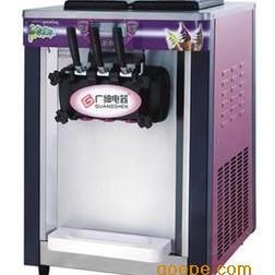 广绅BJT218S三头冰淇淋机 ?#21830;?#20912;淇淋 商用冰激淋机
