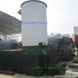 燃煤几何印花导热油汽锅