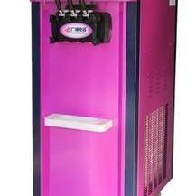 商用冰淇淋机 广绅BJT218C三色冰淇淋机  三头冰淇淋机