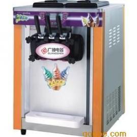 广绅BJH219S三色刨冰机 台式冰激淋机 桌上型刨冰机