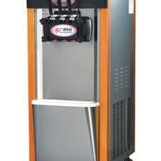 广绅BJH489C冰淇淋机 三色冰淇淋机 三头冰淇淋机
