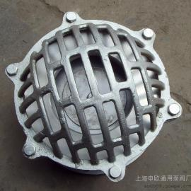 H42W-10P-DN125 304不锈钢法兰底阀