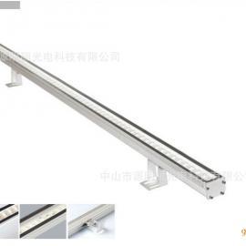 新款超高亮11W 5050贴片超薄LED线条灯洗墙灯可做单色全彩