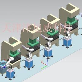 四轴单臂式北京冲压机械手