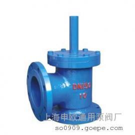 SSDF-10-DN200铸铁水上式底阀